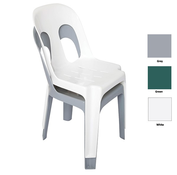 Auswide Office Furniture Rapidline Pipee Stacking Plastic Chair Office Furniture Auswide
