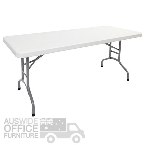 AUSWIDE Office Furniture Rapidline Poly Folding Table Office